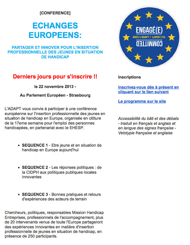 Echanges Europeens2